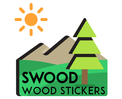 wood stickers